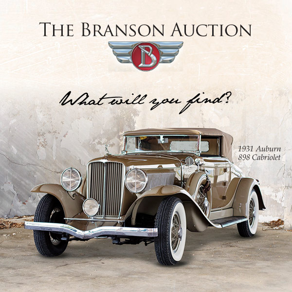 The Branson Auction: Three Decades of Service to the Collector